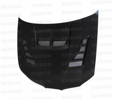 Seibon - Subaru Impreza Seibon CW Style Carbon Fiber Hood - HD0607SBIMP-CW