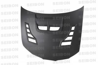 Seibon - Subaru WRX Seibon CW Style Dry Carbon Fiber Hood - HD0607SBIMP-CW-DRY