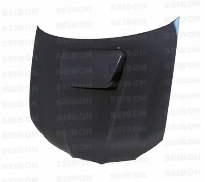 Seibon - Subaru Impreza Seibon OEM Style Carbon Fiber Hood - HD0607SBIMP-OE
