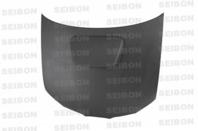 Seibon - Subaru Impreza Seibon OEM Style Dry Carbon Fiber Hood - HD0607SBIMP-OE-DRY