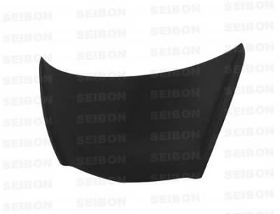 Seibon - Honda Fit Seibon OEM Style Carbon Fiber Hood - HD0708HDFIT-OE