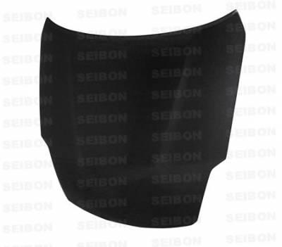 Seibon - Nissan 350Z Seibon OEM Style Carbon Fiber Hood - HD0708NS350-OE