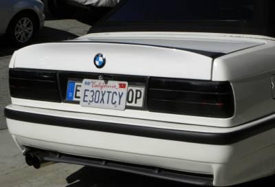 DTM Fiberwerkz - BMW 3 Series DTM Fiberwerkz CSL Style Pin Down Trunk - E30CSLPINDOW
