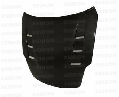 Seibon - Nissan 350Z Seibon TS Style Carbon Fiber Hood - HD0708NS350-TS