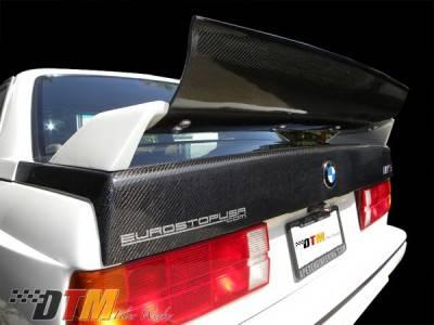 DTM Fiberwerkz - BMW 3 Series DTM Fiberwerkz OEM Style Trunk- CFRP - E30-M3-OEM-S