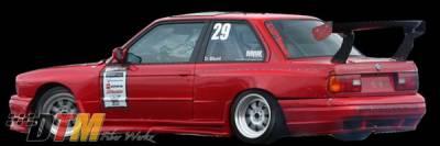 DTM Fiberwerkz - BMW 3 Series DTM Fiberwerkz OEM Style Pin Down Trunk - FRP - E30-OEM-STYL