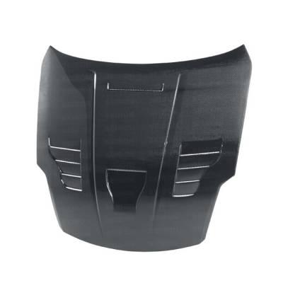 Seibon - Nissan 350Z Seibon VT Style Carbon Fiber Hood - HD0708NS350-VT