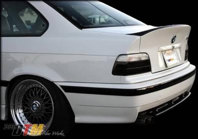 DTM Fiberwerkz - BMW 3 Series 2DR DTM Fiberwerkz CSL Style Trunk - FRP - E36-CSL-STYL