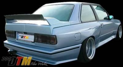DTM Fiberwerkz - BMW 3 Series DTM Fiberwerkz OEM Style Pin Down Trunk - E30 OEM Styl