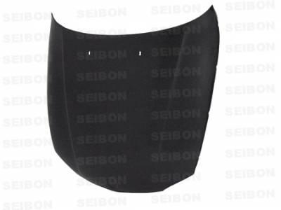 Seibon - BMW 1 Series Seibon OEM Style Carbon Fiber Hood - HD0809BMWE822D-OE