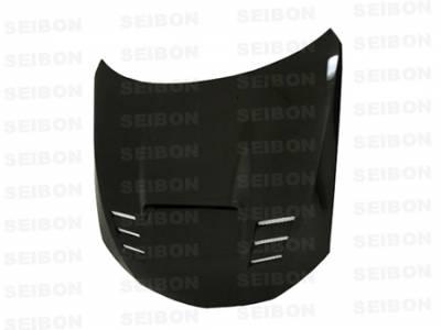 Seibon - Subaru Impreza Seibon CWII Style Carbon Fiber Hood - HD0809SBIMP-CWII