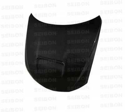Seibon - Subaru Impreza Seibon OEM Style Carbon Fiber Hood - HD0809SBIMP-OE