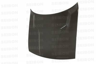 Seibon - Dodge Challenger Seibon OEM Style Carbon Fiber Hood - HD0910DGCH-OE