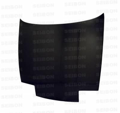 Seibon - Nissan 180SX Seibon OEM Style Carbon Fiber Hood - HD8994NS240-OE