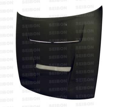 Seibon - Nissan S13 Seibon DV Style Carbon Fiber Hood - HD8994NSS13-DV