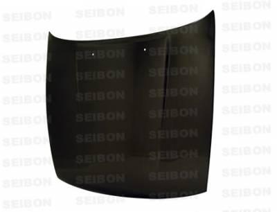 Seibon - Nissan S13 Seibon OEM Style Carbon Fiber Hood - HD8994NSS13-OE