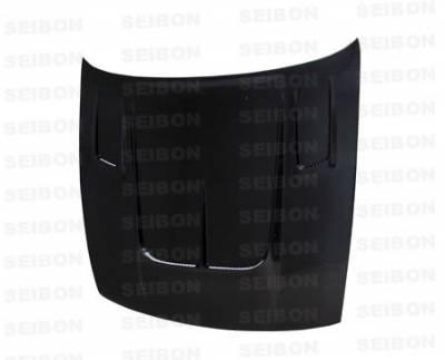 Seibon - Nissan S13 Seibon TT Style Carbon Fiber Hood - HD8994NSS13-TT