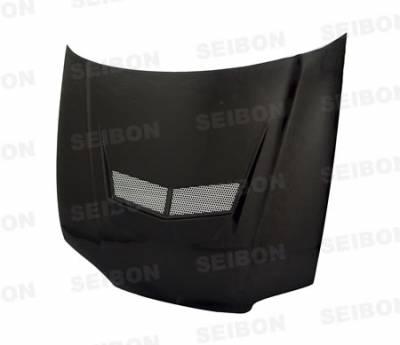 Seibon - Honda Accord Seibon XT Style Carbon Fiber Hood - HD9093HDAC-XT