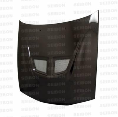 Seibon - Mitsubishi Eclipse Seibon EVO Style Carbon Fiber Hood - HD9294MITEC-EVO