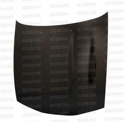 Seibon - Mitsubishi Eclipse Seibon OEM Style Carbon Fiber Hood - HD9294MITEC-OE