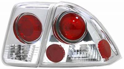 Matrix - Clear Euro Taillights - 9334