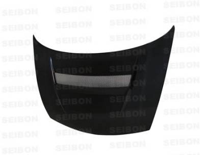 Seibon - Honda Civic 2DR Seibon XT Style Carbon Fiber Hood - HD9295HDCV2D-XT