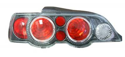Matrix - Euro Taillights with Carbon Fiber Housing - 9841