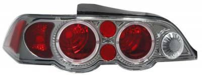 Matrix - Black Chrome Euro Taillights - 92005