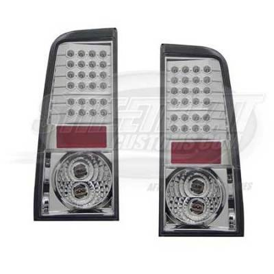I-Tech - I-Tech Black LED Euro Taillights - 01SB2003TLEDJM