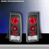 Matrix - Euro Taillights with Black Housing - 094008B