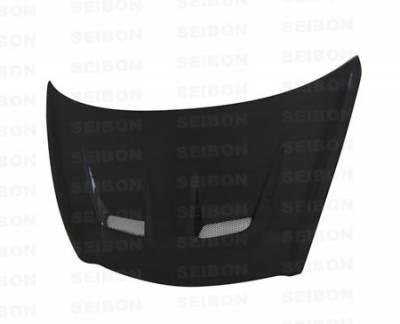 Seibon - Honda Del Sol Seibon XT Style Carbon Fiber Hood - HD9397HDDS-XT