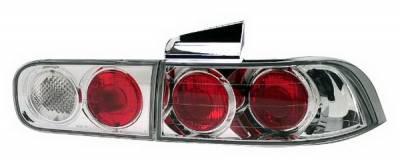 In Pro Carwear - Acura Integra 4DR IPCW Taillights - Crystal Eyes - Crystal Clear - 4PC - CWT-108C2