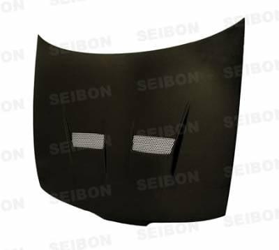 Seibon - Acura Integra Seibon VSII Style Carbon Fiber Hood - HD9401ACITR-VSII