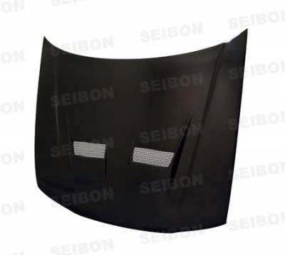 Seibon - Honda Accord Seibon VSII Style Carbon Fiber Hood - HD9497HDAC-VSII