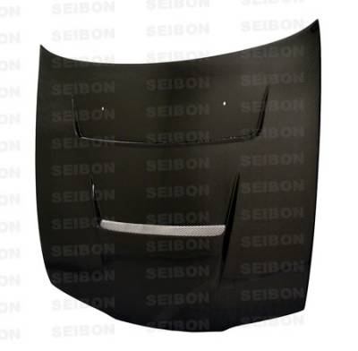 Seibon - Nissan 240SX Seibon DV Style Carbon Fiber Hood - HD9596NS240-DV