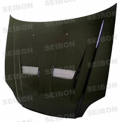 Seibon - Honda Civic Seibon XT Style Carbon Fiber Hood - HD9698HDCV-XT