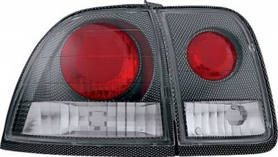 In Pro Carwear - Honda Accord 2DR & 4DR IPCW Taillights - Crystal Eyes - 4PC - CWT-711CF