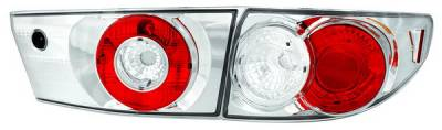 In Pro Carwear - Honda Accord 4DR IPCW Taillights - Crystal Eyes - 4PC - CWT-714C