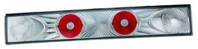 In Pro Carwear - Honda Civic HB IPCW Taillights - Crystal Eyes - 3PC - CWT-725C2