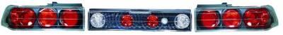 In Pro Carwear - Honda CRX IPCW Taillights - Crystal Eyes - 1PC - CWT-734B2