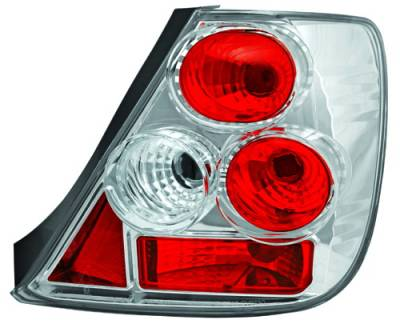 In Pro Carwear - Honda Civic HB IPCW Taillights - Crystal Eyes - CWT-743C2