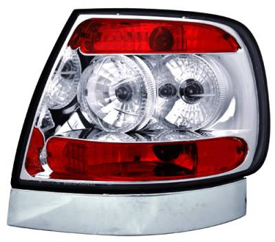 In Pro Carwear - Audi A4 IPCW Taillights - Crystal Eyes - Crystal Clear - 1 Pair - CWT-8301C2