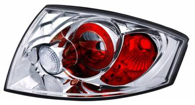 In Pro Carwear - Audi TT IPCW Taillights - Crystal Eyes - Crystal Clear - 1 Pair - CWT-8302C2