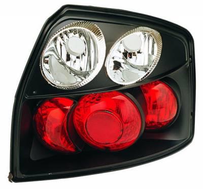 In Pro Carwear - Audi A4 IPCW Taillights - Crystal Eyes - Bermuda Black - 1 Pair - CWT-8303B2