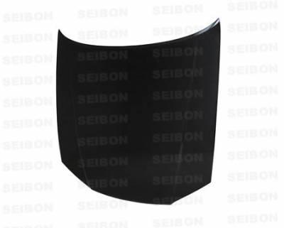 Seibon - Nissan Skyline Seibon OEM Style Carbon Fiber Hood - HD9901NSR34S-OE