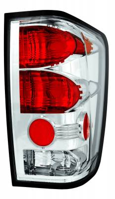 In Pro Carwear - Nissan Titan IPCW Taillights - Crystal Eyes without Utility Cargo Light - 1 Pair - CWT-CE1114C
