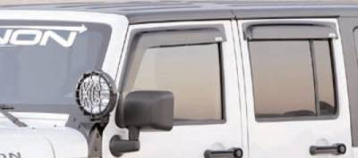 GT Styling - Ford Expedition GT Styling Sport-Gard Side Window Deflector