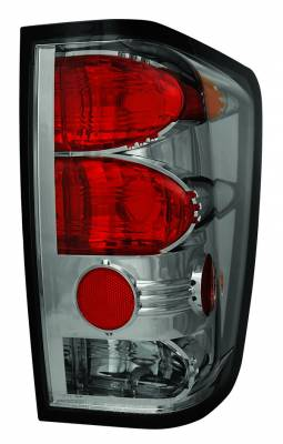 In Pro Carwear - Nissan Titan IPCW Taillights - Crystal Eyes without Utility Cargo Light - 1 Pair - CWT-CE1114CS