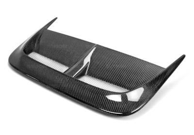 Seibon - Subaru WRX Seibon CW Style Carbon Fiber Hood Scoop - HDS0203SBIMP-CW