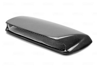 Seibon - Subaru Impreza Seibon STI Style Carbon Fiber Hood Scoop - HDS0203SBIMP-STI